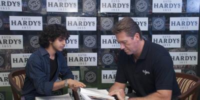 Glenn McGrath ambassador for Hardy Wines